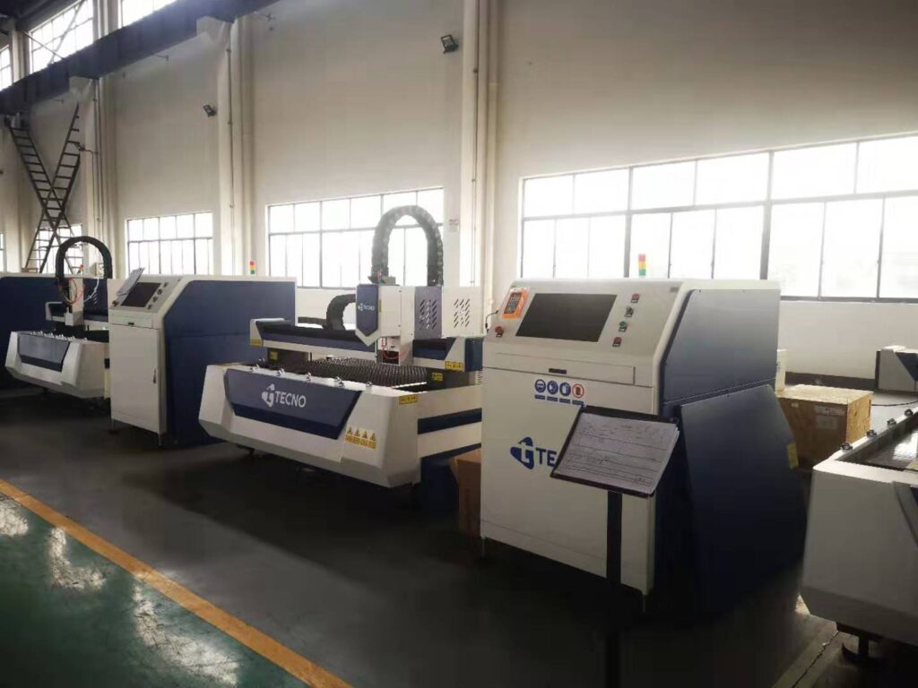 Mesin CNC Laser Cutting merk TECNO single open table