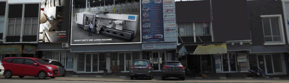 Tampak depan PT. Tecno Mesin Indonesia