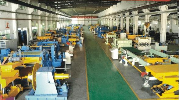 Mesin Slitting Line maupun Cut To Length di Pabrik