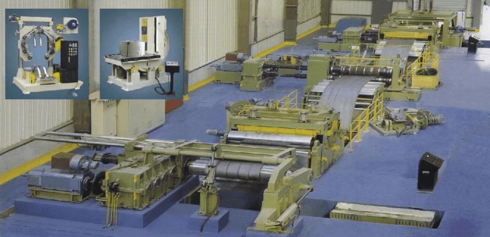 Foto Rangkaian Mesin Slitting Coil Line